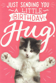 Woof & Purr Greeting Card - Birthday Hug