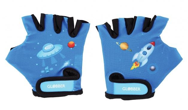 Globber: Protective Gloves - Toddler XS (Rocket Blue)