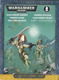 Warhammer 40,000 Eldar Howling Banshees
