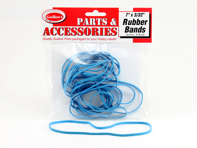 "Rubber Bands 7""x3/32"" (10pk)"