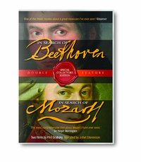 In Search Of Beethoven & In Search Of Mozart on DVD