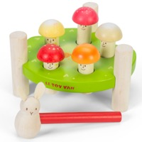 Le Toy Van: Petilou - Mr Mushrooms Hammer Game