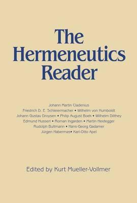 The Hermeneutics Reader image