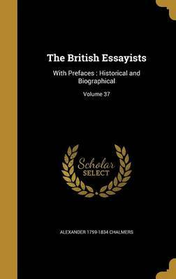 The British Essayists by Alexander 1759-1834 Chalmers image