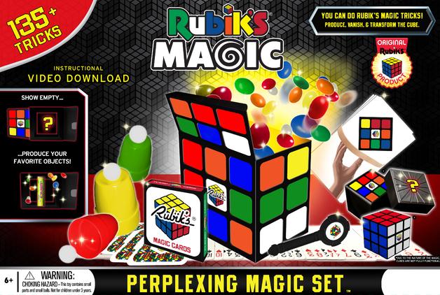 Rubik's Magic: Perplexing Magic Set - 135+ Tricks
