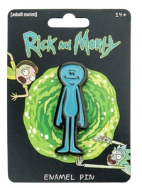 Rick & Morty - Mr Meeseeks Enamel Pin image