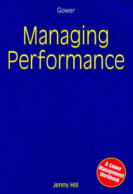Managing Performance by Jenny Hill image