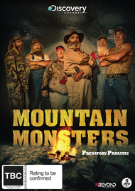 Mountain Monsters: Predatory Primates on DVD