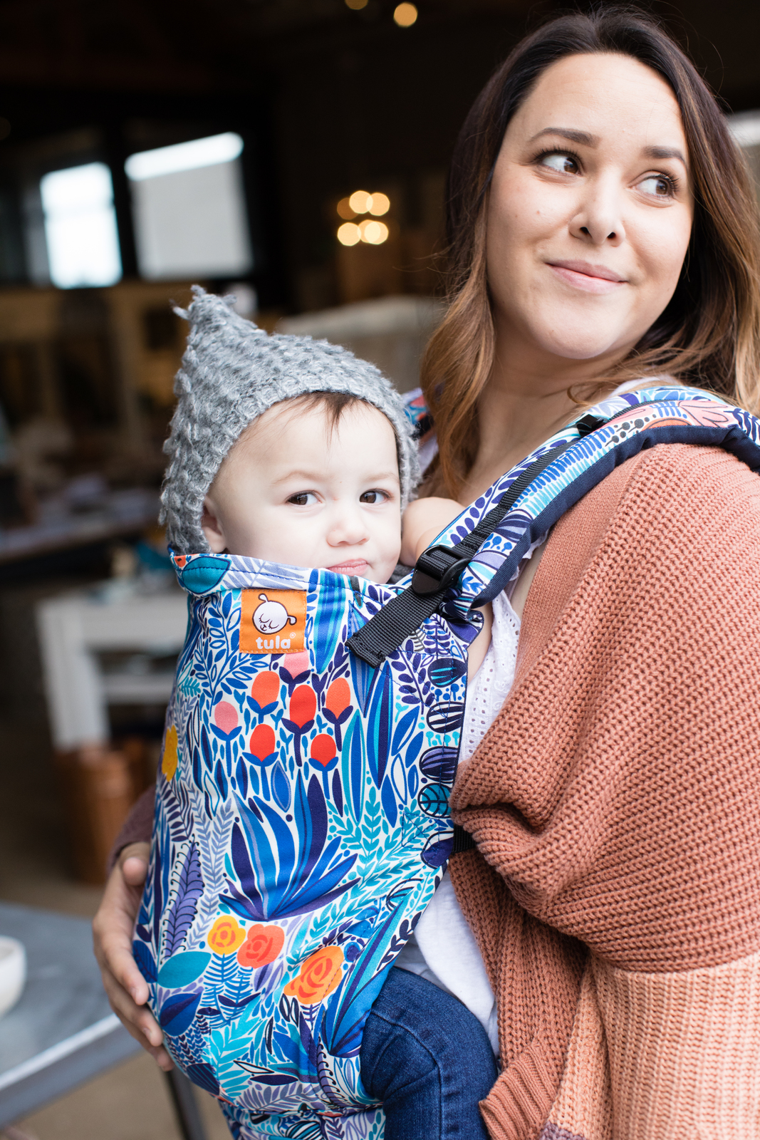 80b5390bb4a Buy Baby Tula Standard Canvas Carrier - Mystic Meadow at Mighty Ape NZ