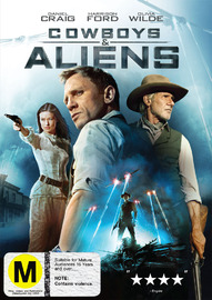 Cowboys and Aliens on DVD