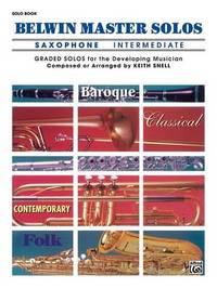 Belwin Master Solos (Alto Saxophone), Vol 1 image