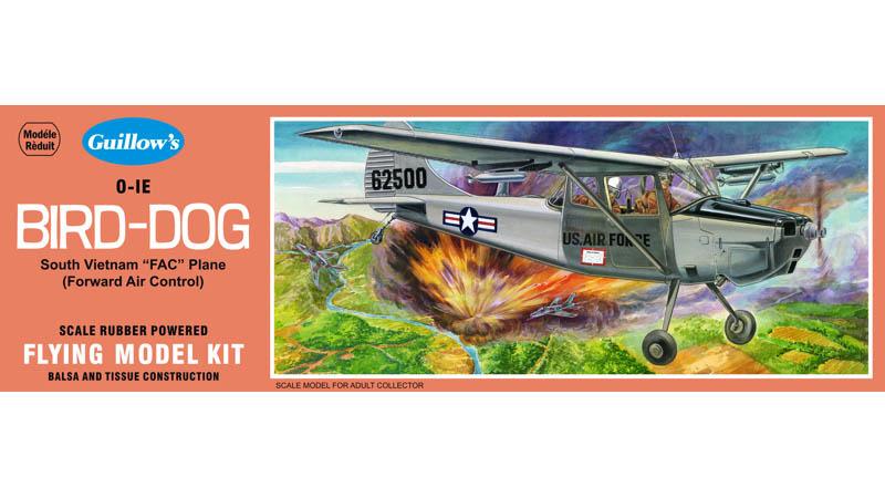 Cessna Bird Dog 1/24 Balsa Model Kit image