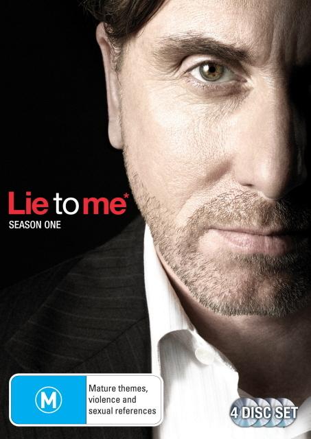 Lie to Me - Season 1 (4 Disc Set) on DVD