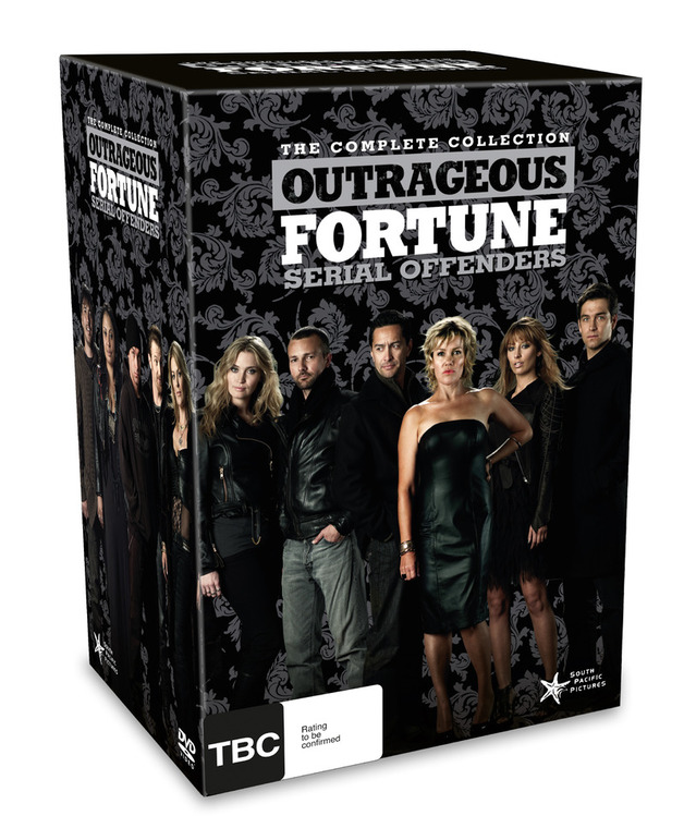 Outrageous Fortune: Serial Offenders - The Complete Collection: Series 1 - 6 (24 Disc Box Set plus Bonus Disc) on DVD