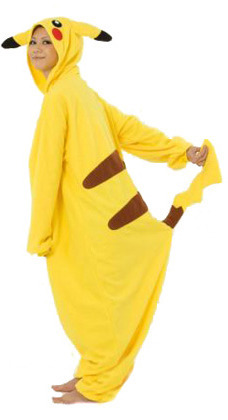 Pokemon Pikachu Kigurumi Onesie (Unisex)  759a67c78e57