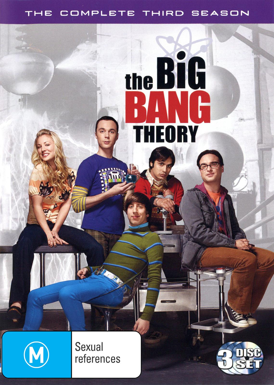 The Big Bang Theory - Complete 3rd Season on DVD image