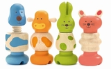 Djeco - Vis-Animo Stack and Screw Toys