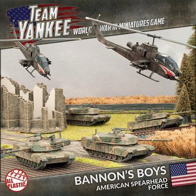 Flames of War: Team Yankee - Bannon's Boys