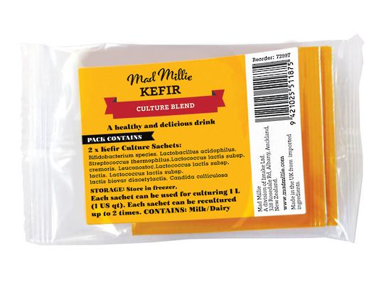 Mad Millie: Kefir Culture Sachets x 2