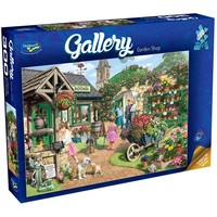 Holdson: 300pce Gallery Series XL Puzzle (Garden Shop)