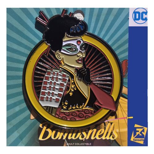 DC Bombshells - Katana Badge Pin