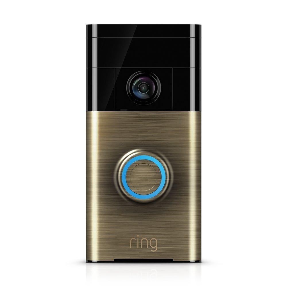 Ring: Video Doorbell - Antique Brass image