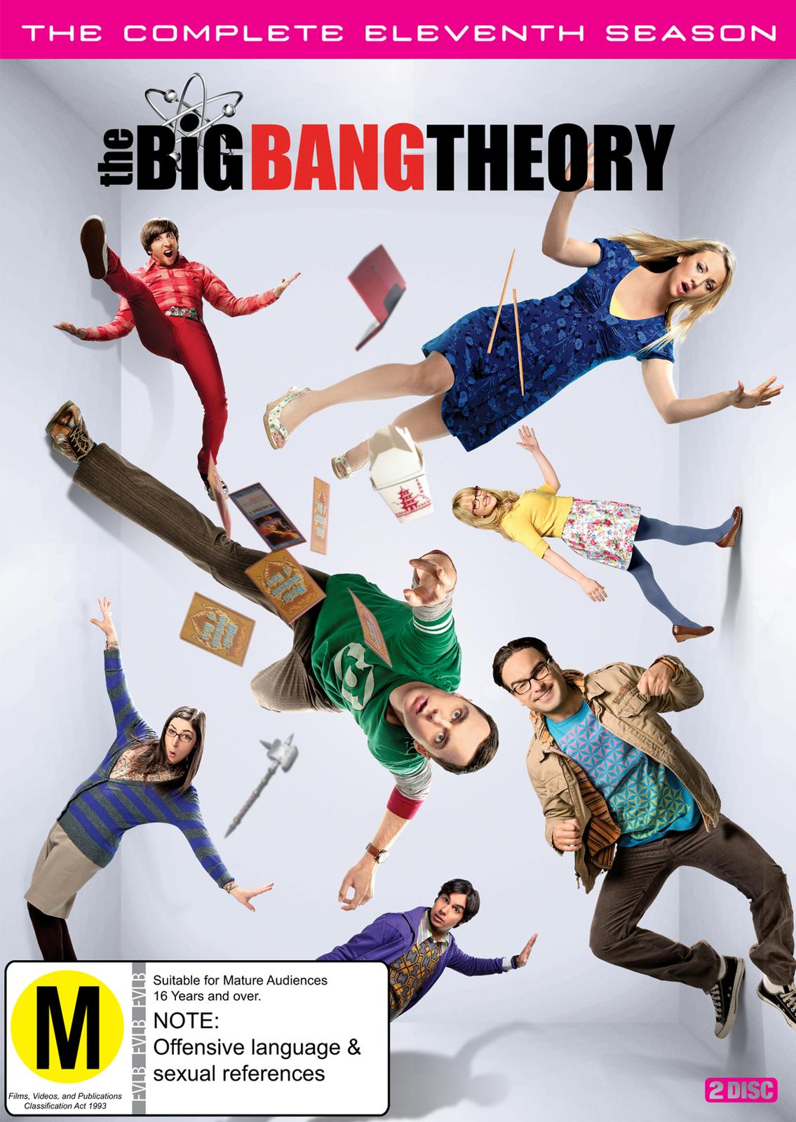 The Big Bang Theory : Season 11 on DVD image