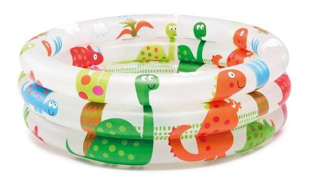 """Intex: Dinosaur 3-Ring - Baby Pool (24"""" x 8.5"""")"""