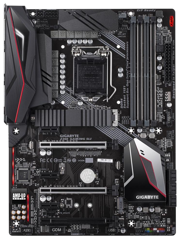 Gigabyte Z390 Gaming SLI Motherboard image