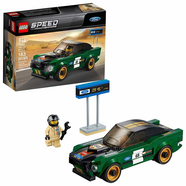 LEGO Speed Champions  1968 Ford Mustang Fastback (75884)  7f965c7af1