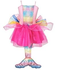 Pink Poppy: Mermaid Princess - Multi Pink Dress (Size 5/6)