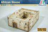 Italeri African House 1:72 Model Kit