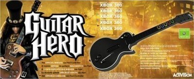Guitar Hero Wireless Guitar for Xbox 360