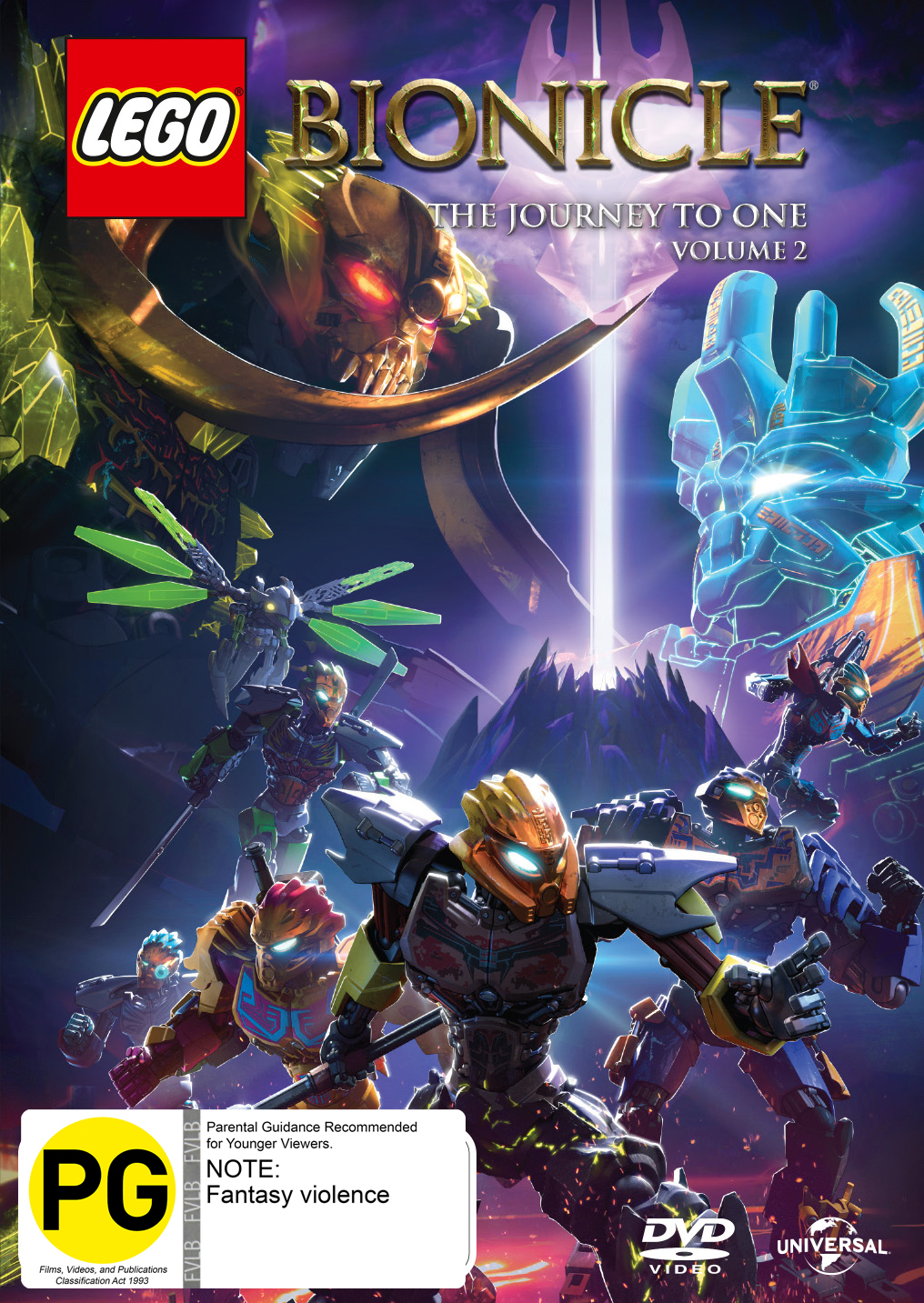 Lego Bionicle The Journey To One
