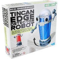 4M: Tin Can Edge Detector Robot Kit