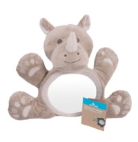Moose Baby in View Car Back Seat Mirror - Rhino