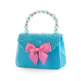 Pink Poppy: Forever Sparkle Hard Handbag - (Blue)