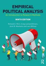 Empirical Political Analysis by Richard C Rich