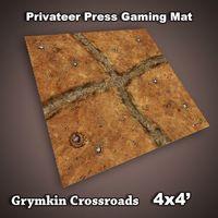 FLG Privateer Press Mat: Grymkin Crossroads Neoprene Gaming Mat (4x4)