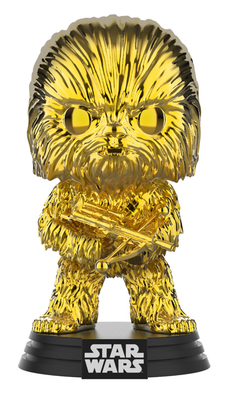 Star Wars - Chewbacca (Gold Chrome) Pop! Vinyl Figure