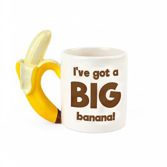 BigMouth – The Big Banana Coffee Mug