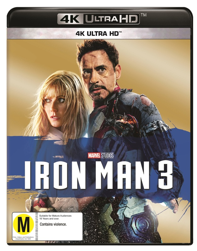 Iron Man 3 on UHD Blu-ray