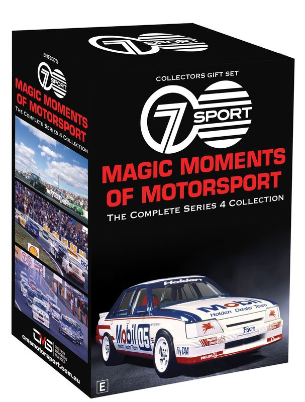 Magic Moments Of Motorsport: Season 4 Collector's Set on DVD