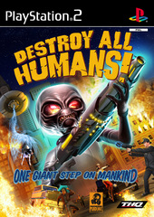 Destroy All Humans for PlayStation 2