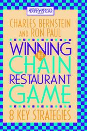 Winning the Chain Restaurant Game by Charles Bernstein