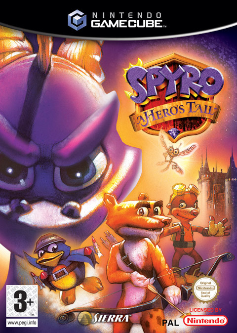 Spyro: A Hero's Tail for GameCube