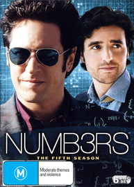 Numb3rs (Numbers) - Complete Season 5 (6 Disc Set) on DVD