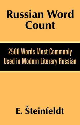 Russian Word Count by E Steinfeldt