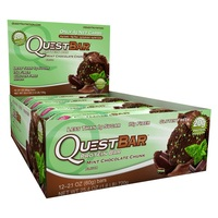 Quest Nutrition - Quest Bar Box of 12 (Mint Choc Chunk)