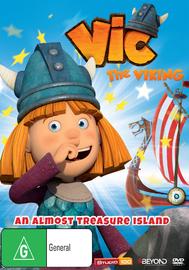 Vic The Viking: Almost Treasure Island on DVD